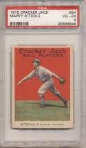 1915 Cracker Jack 54 OToole, Pitt NL PSA 4