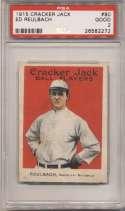 1915 Cracker Jack 80 Reulbach, Bkln NL PSA 2
