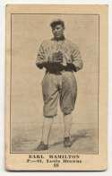 1917 E135 Collins McCarthy 68 Earl Hamilton VG