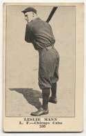 1917 E135 Collins McCarthy 106 Leslie Mann VG+