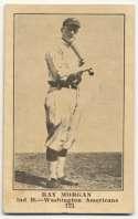 1917 E135 Collins McCarthy 121.1 Ray Morgan Error VG+