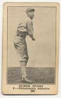 1917 E135 Collins McCarthy 124 Elmer Myers VG