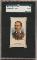 1887 N28 Allen & Ginter  Daly (Billiards) SGC 2