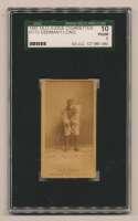 1887 N172 Old Judge  Long, Germany (Maroons) SGC 1