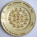 1889   New York Giants Plate Ex*