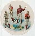 1888 Goodwin Round Album  Brown, George, Foster, Tiernan VG-Ex/Ex
