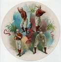 1888 Goodwin Round Album  ORourke, Richardson, Connor, Gore VG-Ex