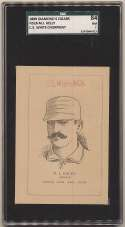 1889 N526 Number 7 Cigar  King Kelly SGC 7 (highest graded)