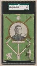 1908 Rose Postcards  Schaefer SGC Authentic
