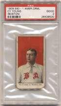 1909 E90-1 American Caramel 119 Cy Young (Cleveland) PSA 2