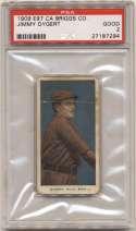 1909 E97 Briggs  Dygert PSA 2