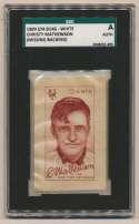 1909 S74 Silks (white) 48 Mathewson SGC Authentic