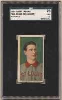 1909 T206 51 Bresnahan (portrait) SGC 1.5