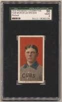 1909 T206 58 Brown (Portrait) SGC 4