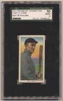 1909 T206 96 Cobb (bat off shoulder) SGC 4
