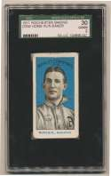 1911 D359 Rochester Baking  Home Run Baker SGC 2
