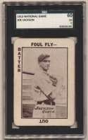 1913 National Game 21 Joe Jackson SGC 5