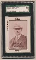 1913 National Game 36 George Stallings MG SGC 9