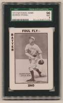 1913 National Game 37 George Stovall SGC 9