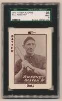 1913 National Game 38 Bill Sweeney SGC 9