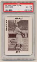 1913 National Game 42 Joe Wood PSA 8