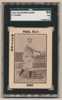 1913 National Game 43 Cy Young SGC 7