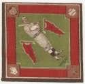 1914 B18 Blanket 86.2 Zach Wheat (green infield) Ex-Mt