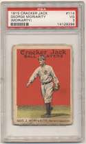 1915 Cracker Jack 114 Moriarity PSA 3