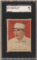1915 Cracker Jack 144 Walsh, Phi AL SGC 3