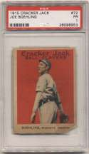 1915 Cracker Jack 72 Boehling, Wash AL PSA 1