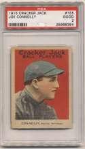 1915 Cracker Jack 155 Connolly, Bos NL PSA 2