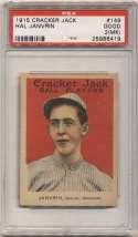 1915 Cracker Jack 149 Janvrin, Bos NL PSA 2 mk