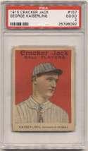 1915 Cracker Jack 157 Kaiserling, Ind Fed PSA 2