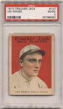 1915 Cracker Jack 147 Magee, Bkln Fed PSA 2