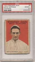 1915 Cracker Jack 9 Hoffman PSA 2.5