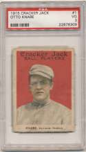 1915 Cracker Jack 1 Knabe, Balt Fed PSA 3