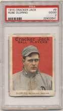 1915 Cracker Jack 8 Oldring, Phi AL PSA 2