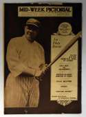 1920 Mid-Week Pictorial  Babe Ruth Full Issue (8/6/1920) VG
