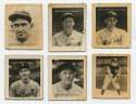 1935 George Burke Tigers Photo Stamps  Near-Set (19/24) w/3 HOFers Ex