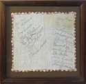 1940 Cardinals Signed Silk Handkerchief 9