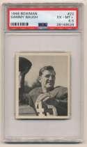 1948 Bowman 22 Baugh PSA 6.5