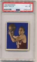 1948 Bowman 9 Phillip PSA 6