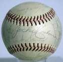 1950   Vintage 1950 Signed Ball w/HOFers & Stars 7.5 JSA LOA