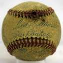 1951 Red Sox  Team Ball 4