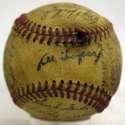 1955 Indians  Team Ball 4