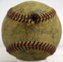 1955 Red Sox  Team Ball w/Ted Williams 4