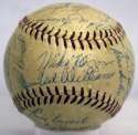 1957 Red Sox  Team Ball 7