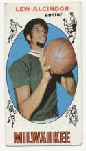 1969 Topps 25 Alcindor RC GVG