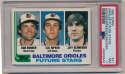 1982 Topps  Key 1980s Rookies PSA 6 - 8 Lot (5 pcs)