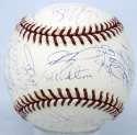 2001 Mets  Team Ball 7.5 JSA LOA (FULL)
